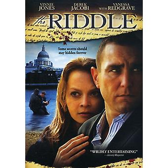 Riddle [DVD] USA import
