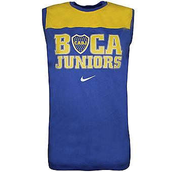 Nike Miesten CABJ Boca Juniors JalkapalloLiivi Rento Tank Top Sininen