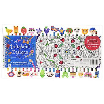 Delightful designs - a creative drawing book