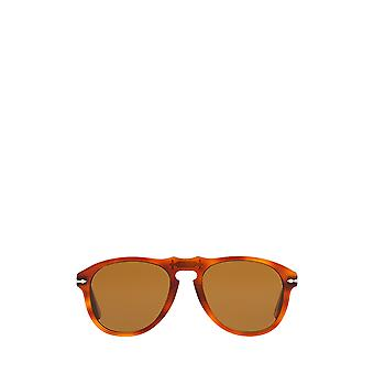 Persol PO0649 light havana male sunglasses