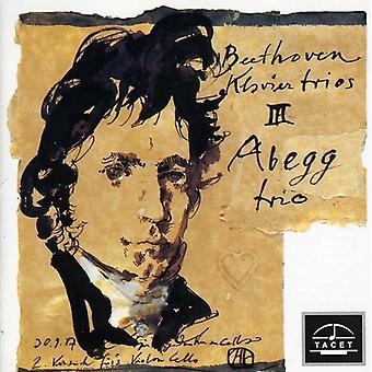 L.V. Beethoven - Beethoven: Klaviertrios, Vol. 3 [CD] USA import