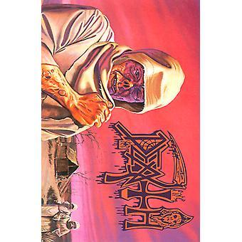 Death Poster Leprosy Band Logo new Official Textile Flag 70cm x 106cm