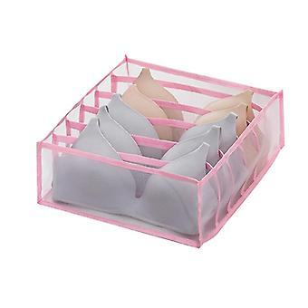 6 Grid closet and drawer organiser boxes for home use