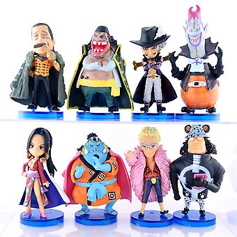 8szt One Piece Boa Hancock Rysunek Toy Emperor Collection