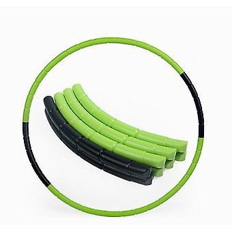 Afneembare kleurrijke plastic hula kinderen kinderen fitness sport hoepel tool 70cm