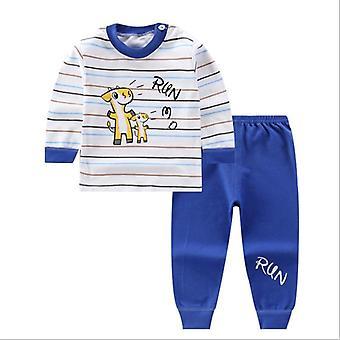 Cotton Pajamas Sets Kids Sleepwear Suit