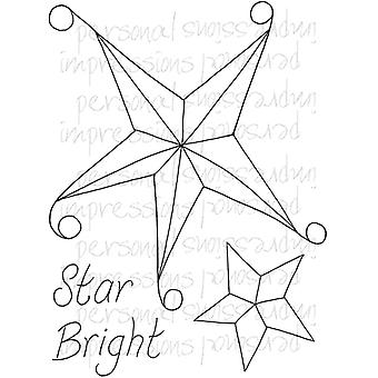 Lindsay Mason Designs Zendoodle Star Bright A6 Clear Stamp