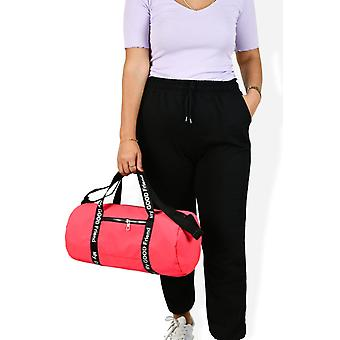 Cylinder Fabric Travel Fitness And Gym Bag