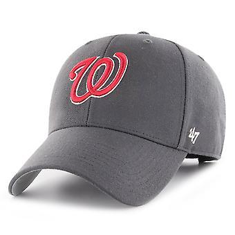 47 כובע מתכוונן למותג - פחם MLB וושינגטון