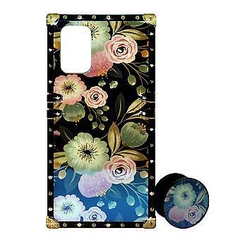 Telefon sag Eye-Trunk Blomster Cover + Ringholder til iPhone XR