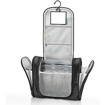 Kulturbeutel zum Aufhngen + Spiegel + XXL Taschen | Kulturtasche Gro & Kompakt, Wasserdicht -
