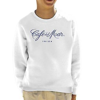 Cafe del Mar Classic Blue Logo Kid's Sweatshirt