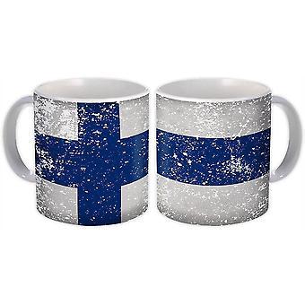 De Mok van het geschenk: De Vlag van Finland