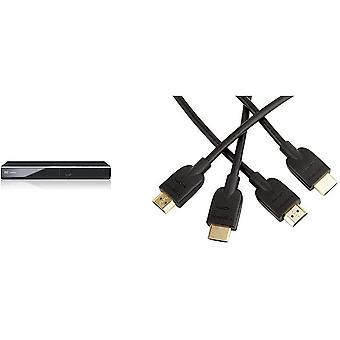 DVD-S700EG-K DVD-Player (Multiformat Wiedergabe mit xvid, MP3 und JPEG, USB 2.0, HDMI, SCART)