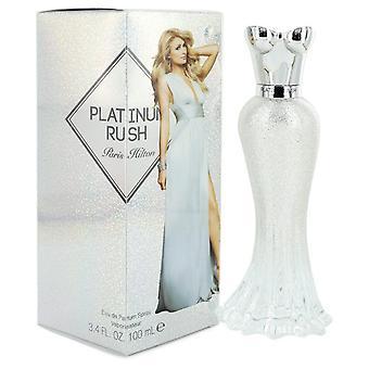 Paris Hilton Platinum Rush by Paris Hilton Eau De Parfum Spray 3.4 oz