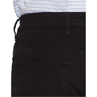 Goodthreads Men's Slim-Fit 5-Pocket Chino Pant, Black, 42W x 32L
