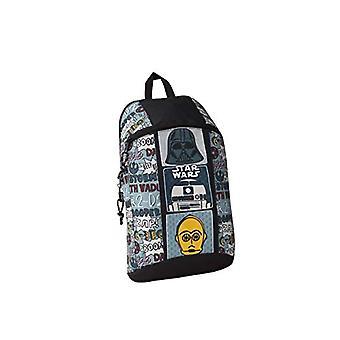 SAFTA 611941821 Star Wars Astro - Mini rygsæk daglig brug, 220 x 100 x 390 mm, en størrelse