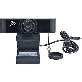 "DigitaLinx ""Liberty"" - HD Webcam USB 1080p,90 deg angle, Black - DL-WFH-CAM90"