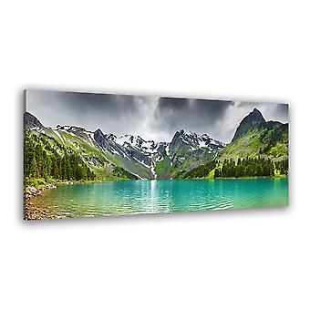Tableau paysage lac d'odessa , colorado usa - 80x30 cm