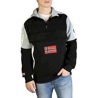 Geographical Norway - Bekleidung - Sweatshirts - Fagostino007-man-black - Herren - Schwartz - XXL