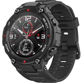"""T-Rex 1,3 """"Smart Watch Smart Watch Fuld Digital Sports Watch med Military Grade Standard, GPS, 17 Sport Modes, Rock Black"""