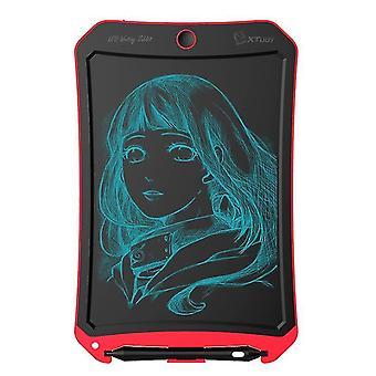 Piros 8,5 hüvelykes LCD rajztábla, intelligens kézzel festett tábla a gyermekek graffiti írásához az5944
