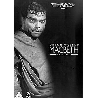 Macbeth DVD von Orson Welles