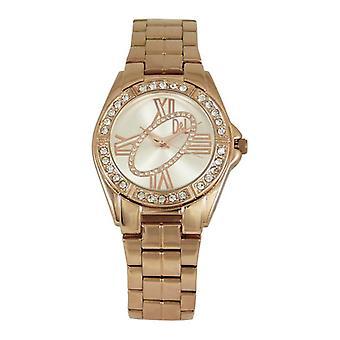 Ladies'Watch Devota & Lomba DL011W-03WHITE (37 mm) (Ø 37 mm)