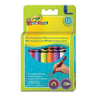 Coloured crayons Crayola 52-016T (16 uds)