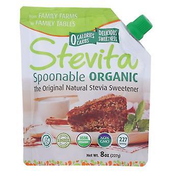Stevita Organic Spoonable Stevia Pouch, 8 Oz