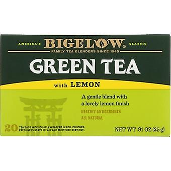 Bigelow Tea Grn Lemon 20Bg, Case of 6 X 0.91 Oz