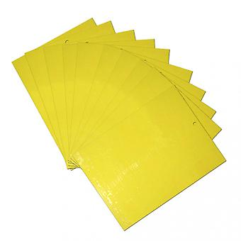 Dual-sided Yellow Sticky Traps For Flying Plant Insect Like Fungus Gnats