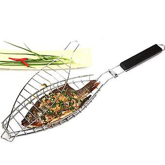Portable Fish Grilling Basket, Grill Baskets For Outdoor Grill