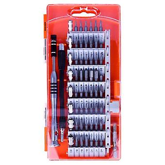 1 Set orange/yellow mini screwdriver kit for repairing all kinds of fine parts asy to carry and use screwdrive