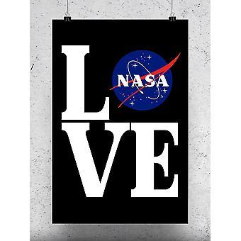 Love Nasa Poster - NASA Designs