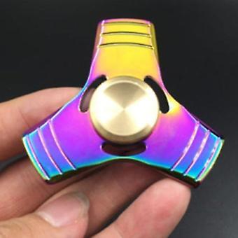 Trébol de colores mano Spinner Kirsite Magic Descompresión Artefacto Dedo Toy