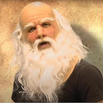 Another One Of My Old Man Christmas Holiday Funny Mask Super Soft Santa Adult