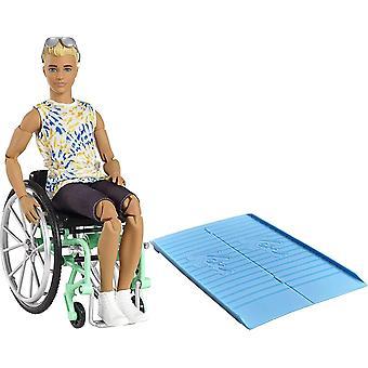 Barbie Ken Fashionistas Puppe #167 mit Rollstuhl & Rampe