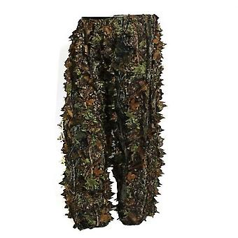 3d Leafy Tactical Ghillie Suit Woodland Camo Camouflage Clothing Jungle Hunting