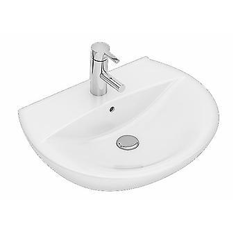 Tvättställ Ifö Spira 15162 med Kranhål & Bräddavlopp 60Cm