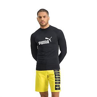 Puma Unisex LS Rash Guard Chaleco Manga Larga Competición Camiseta Cuello Alto Top
