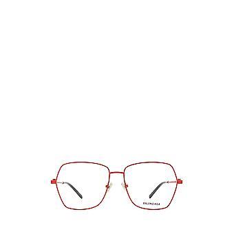 Balenciaga BB0169O gafas femeninas rojas
