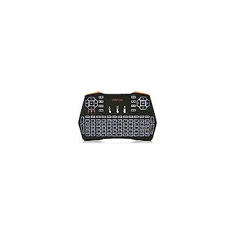 Numeric keypads i8 plus tri-color backlit 2.4G wireless mini touchpadkeyboard air mouse airmouse for tv box mini pc