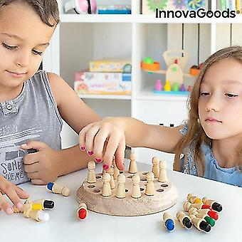 Science exploration sets wooden memory chess taeda 26 pieces