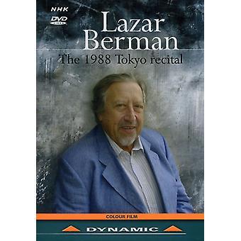 Lazar Berman - 1988 Tokyo Recital [DVD] USA import