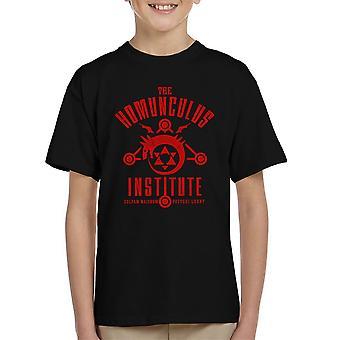 The Sins Of The Father Full Metal Alchemist Kid's T-Shirt