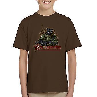 Oproep voor moeder Rusland Kid's T-Shirt