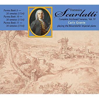 Scarlatti, D. / Grante, Carlo - Scarlatti, D. / Grante, Carlo: Complete Keyboard Sonatas: Domenico Scarlatti 4 [CD] USA import