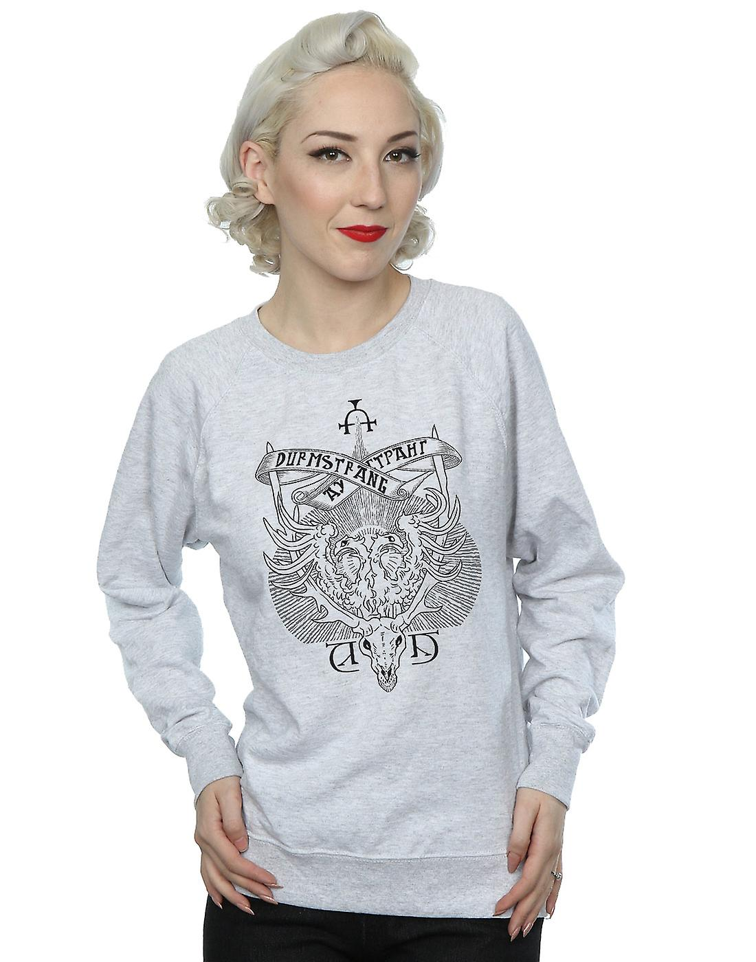 Harry Potter Women S Durmstrang Institute Crest Sweatshirt Fruugo Us Durmstrang once had the darkest reputation of all eleven wizarding schools, though this was never entirely merited. fruugo