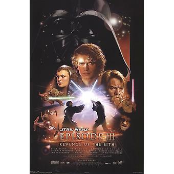 Star Wars - Episódio III Poster Print